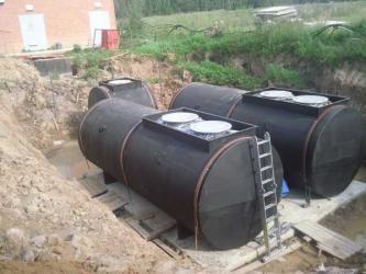 Топливные резервуары для АЗС