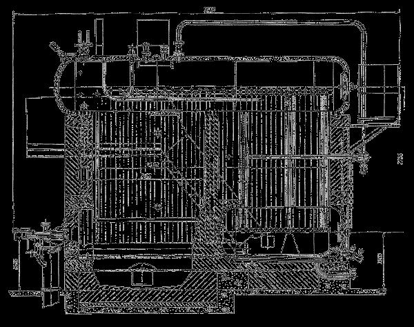 Паровой котел ДКВр-20-13 ГМ