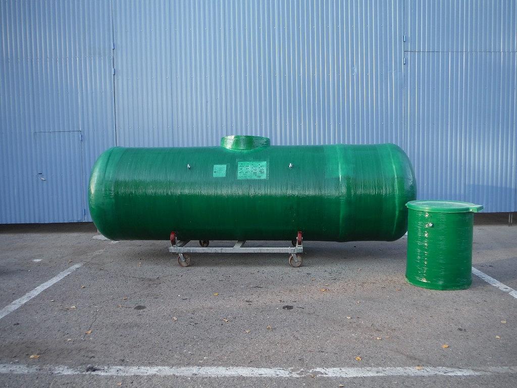 Противопожарный резервуар для воды