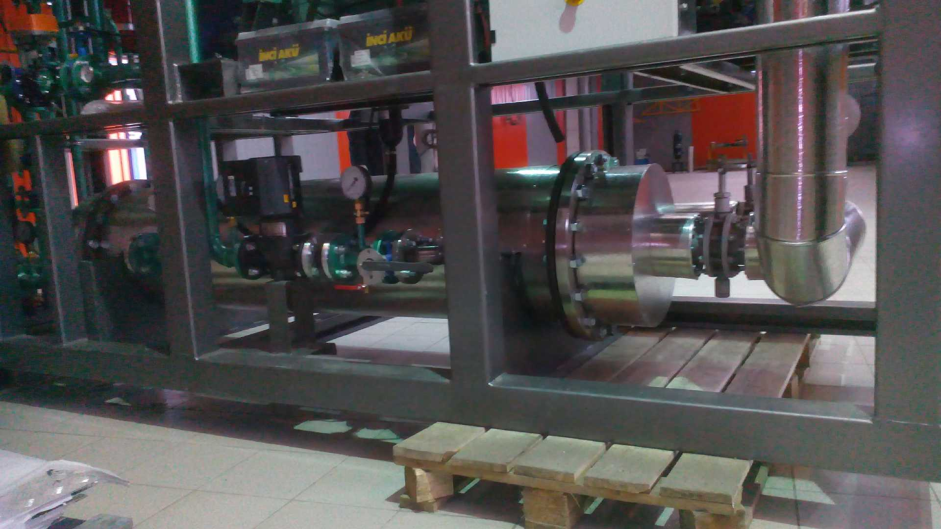 Готовая газопоршневая установка ADG 158