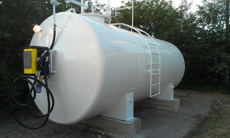 Резервуары для дизельного топлива