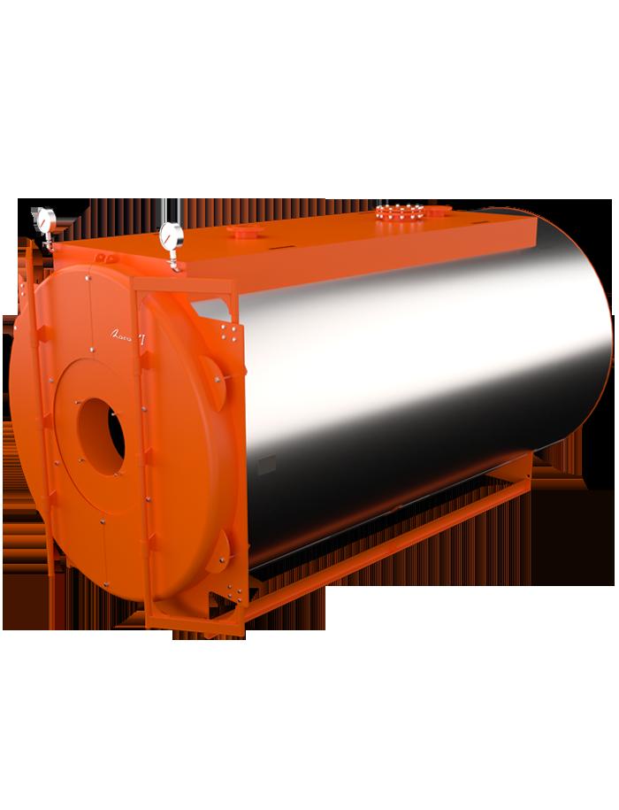 Водогрейный жаротрубный трехходовой котел Lavart Industrial